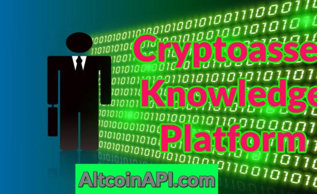 Cryptoasset Knowledge Platform